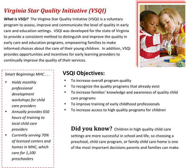 Virginia Star Quality Information